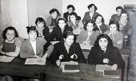 Estudiantes en el instituto Beatriz Galindo