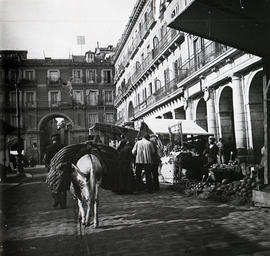 Mercado en la Plaza Mayor