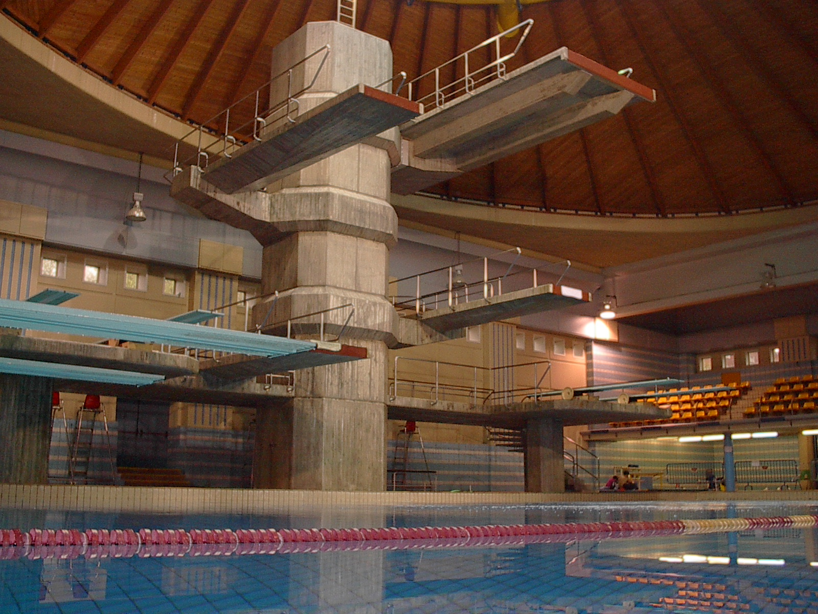 Foto de la piscina olimpica de los jjoo de rio hoy dia for Piscina olimpica madrid