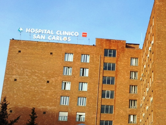 Galer a de im genes hospitalclinicosancarlos for Puerta k hospital clinico san carlos