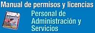 Manual de permisos y licencias para PAS