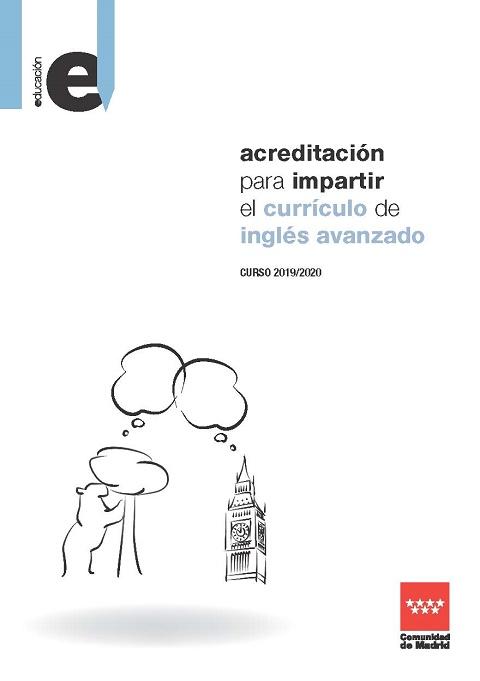 Folleto informativo Acreditación para impartir el currículo de Inglés avanzado