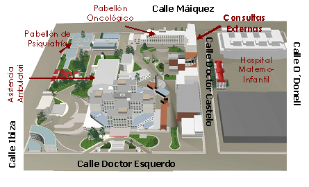 Consultas externas hospital gregorio maranon for Hospital de dia madrid