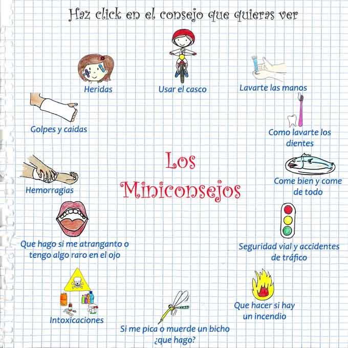 Miniconsejos para los niños