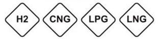 Etiquetas gasolina