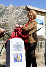 La consejera de Medio Ambiente celebra el XXV aniversario de la Asociaci�n de Amigos del Camino de Santiago