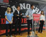 El consejero de Cultura y Deporte presenta la primera  Noche del Deporte de la Comunidad de Madrid
