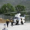 Miembros de brigadas helitransportadas en prácticas