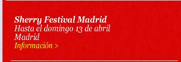 Sherry Festival Madrid