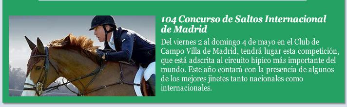 104 Concurso de Saltos Internacional de Madrid