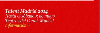 Talent Madrid 2014