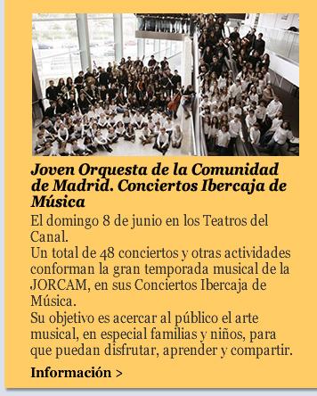 Joven Orquesta de la Comunidad de Madrid. Conciertos Ibercaja de Música