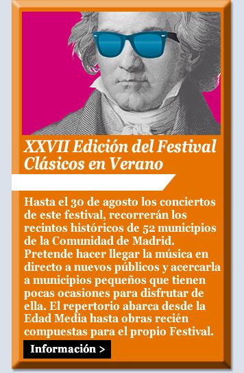 XXVII Edición del Festival Clásicos en Verano