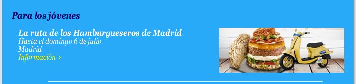 La ruta de los Hamburgueseros de Madrid