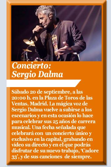 Concierto: Sergio Dalma