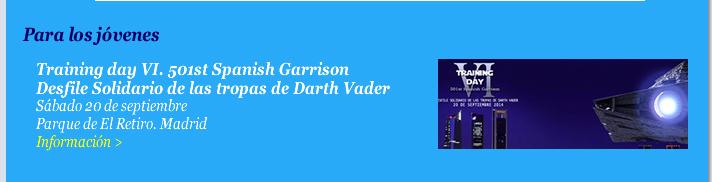 Training day VI. 501st Spanish Garrison. Desfile Solidario de las tropas de Darth Vader