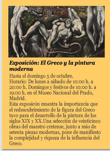 Exposición: El Greco y la pintura moderna