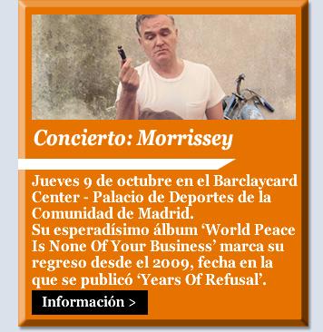 Concierto: Morrissey