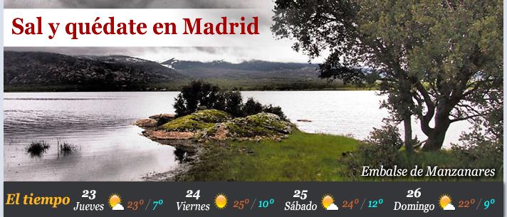 Este fin de semana... Sal y quédate en Madrid